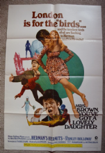 Mrs Brown You've Got a Lovely Daughter Film Poster US One Sheet